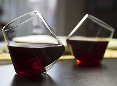 Hand Blown Stemless Wine Glasses - Wine Wild West - Wine Gifts and Accessories