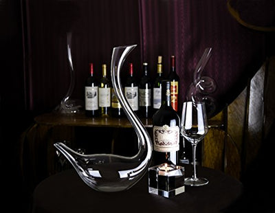 Swan Shaped Wine Decanter - Wine Wild West - Wine Gifts and Accessories