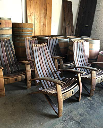Wine Barrel Adirondack Chair - Wine Wild West - Wine Gifts and Accessories