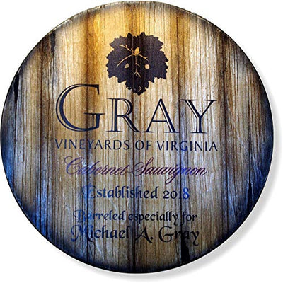 Personalized Wine Barrel Sign - Wine Wild West - Wine Gifts and Accessories