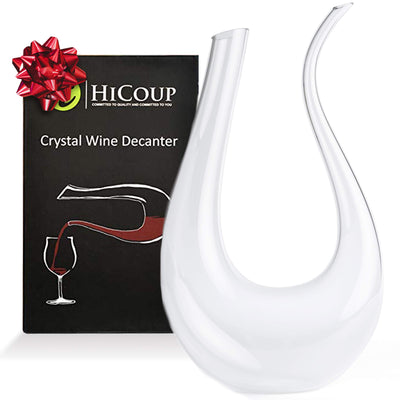 U Shape Wine Decanter