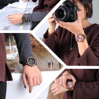 women wooden watch