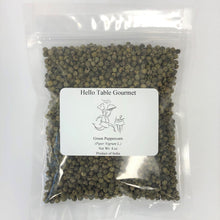 Load image into Gallery viewer, Whole Green Peppercorn 4 oz ziplock bag