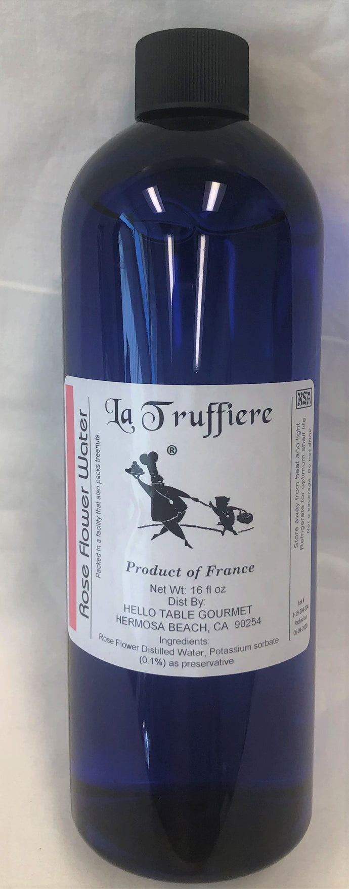La Truffiere Rose Flower Water 16 oz