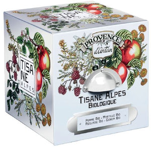 D'Antan Organic Alpes Herbal Tea - 24 individually wrapped bags