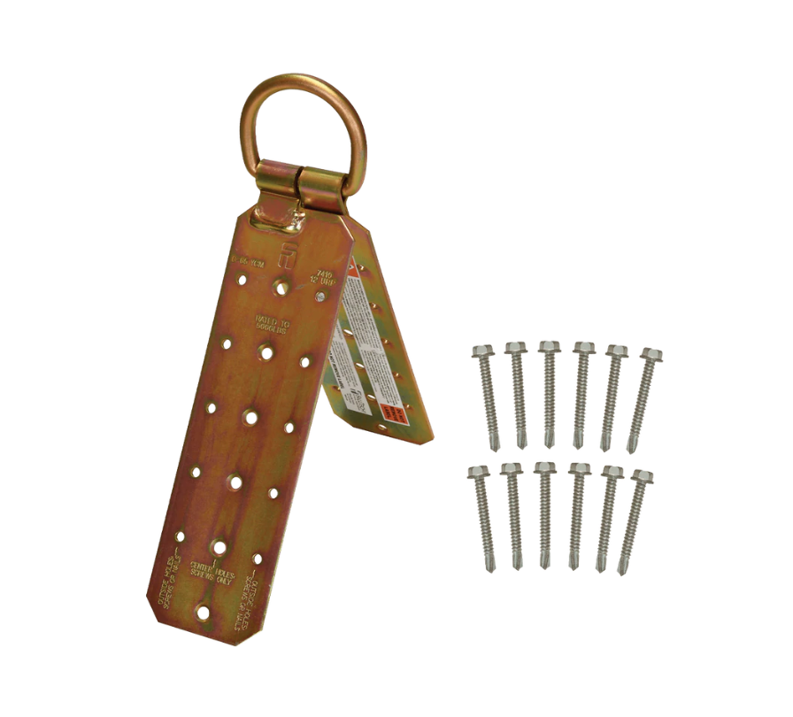 Hinged Reusable Wood Roof Anchor