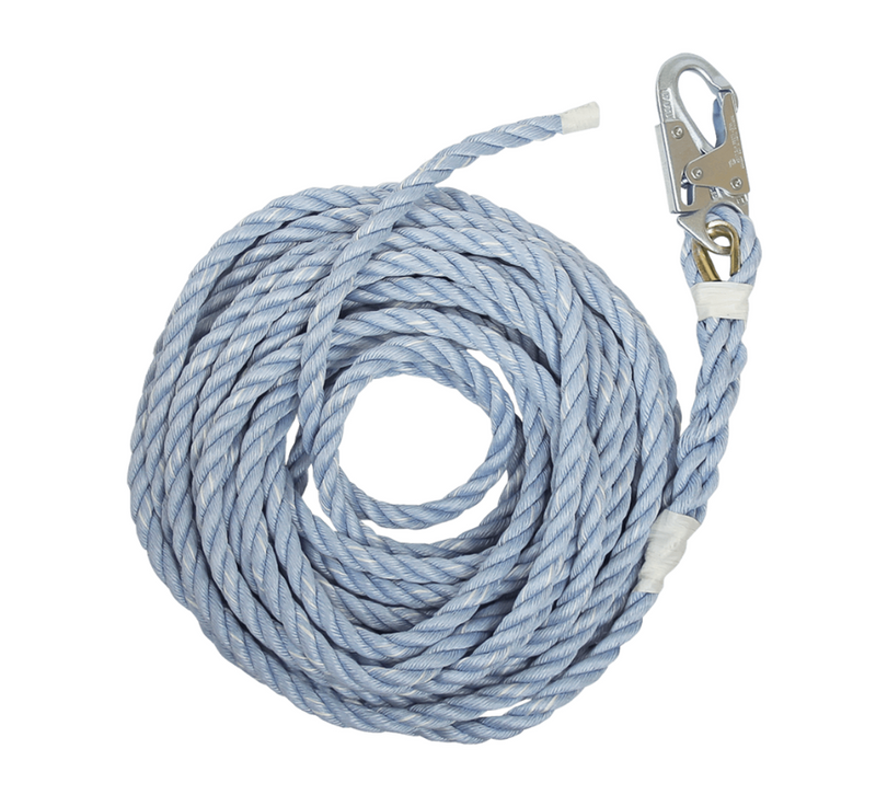 Premium Polyester Blend Vertical Lifeline with Back-spliced End
