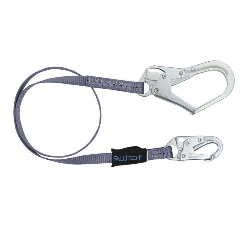 Web Restraint Lanyard, Fixed-length with Steel Connectors