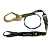 Arc Flash Energy Absorbing Lanyard, Single-leg with Choke-loop