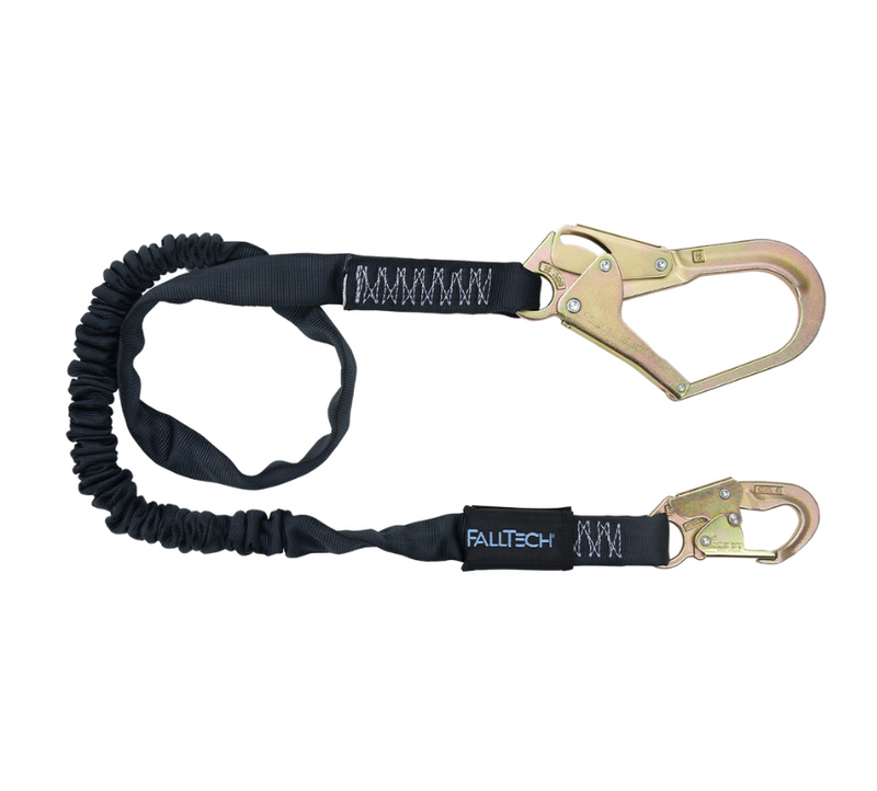 6' Heavyweight® Energy Absorbing Lanyard, Single Leg