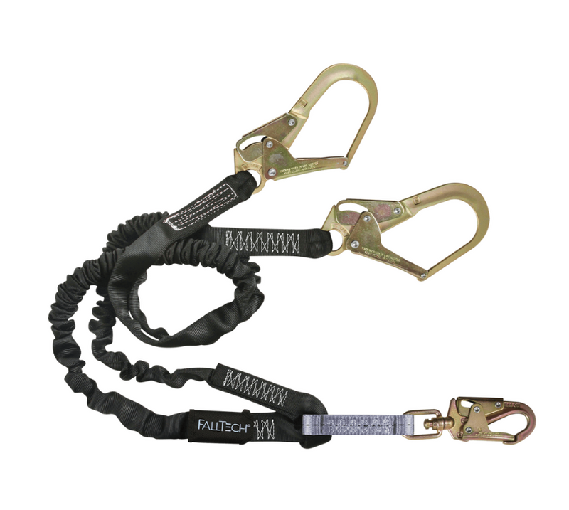 6' Heavyweight® Energy Absorbing Lanyard, Double-leg