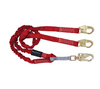 6' Ironman® Internal 12' free fall Lanyard, Double-leg