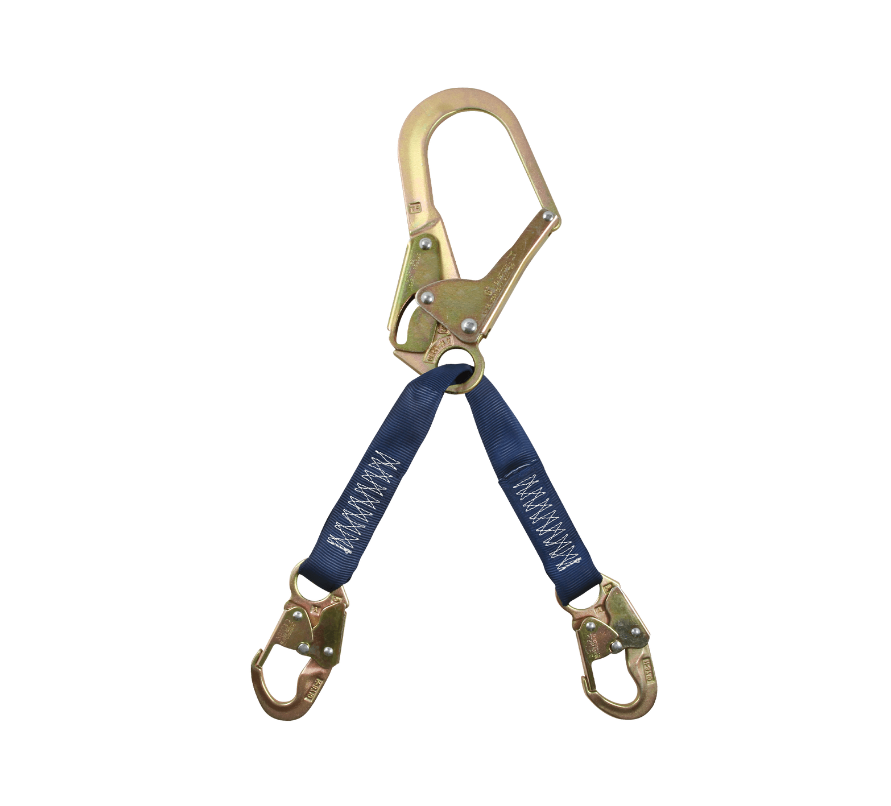 "24"" Standard-duty Rebar Positioning Assembly with Jacketed Web and Steel non-Swivel Rebar Hook"