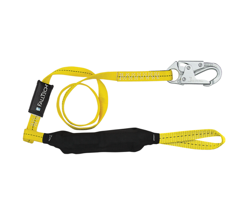 Soft Pack FT Basic® Energy Absorbing Lanyard, Single-leg
