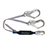 ViewPack® Energy Absorbing Lanyard, Double-leg with Aluminum Connectors