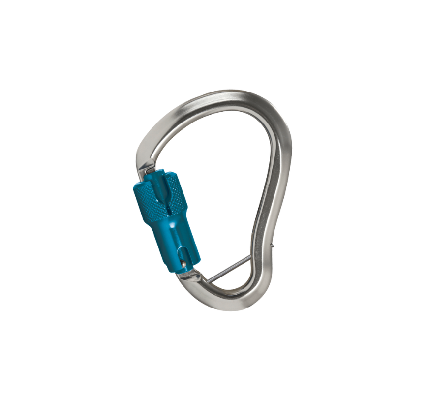 "Aluminum Alloy Connecting Carabiner, 7/8"" Open Gate Capacity"
