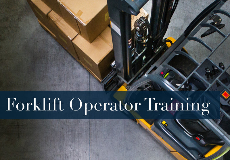 FORKLIFT SAFETY TRAINING CLASS 1, 2, 3, AND 4