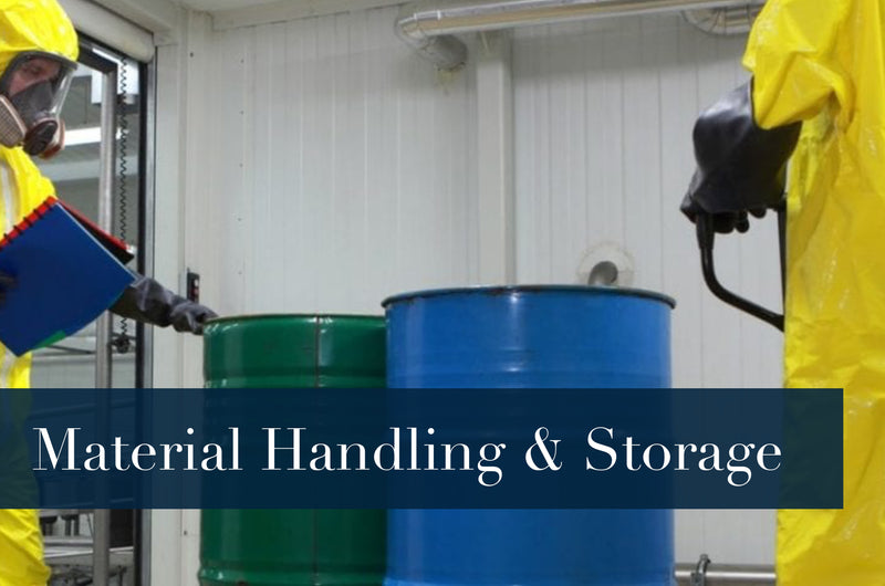 MATERIALS HANDLING, STORAGE, USE, AND DISPOSAL SAFETY TRAINING