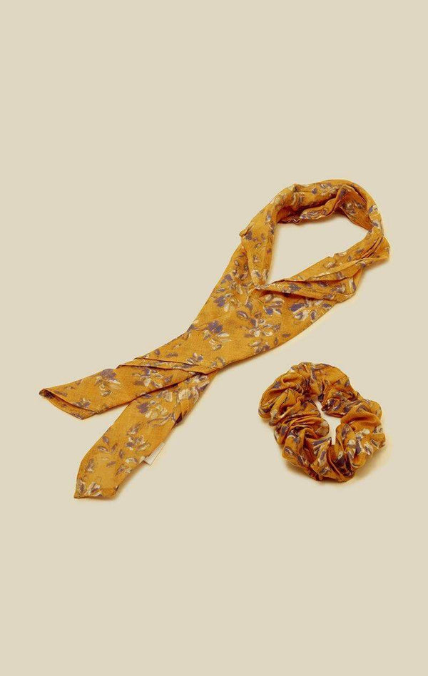 wheat-scrunchie