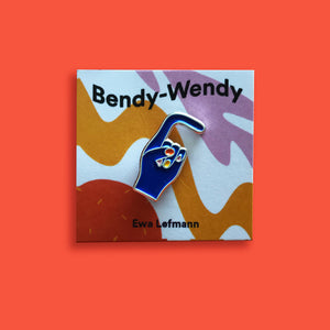 Bendy Wendy Pin –– Ewa Lefmann