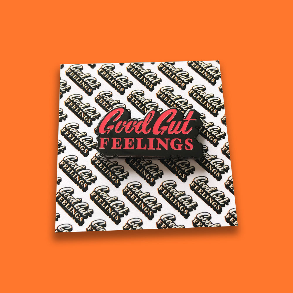 Good Gut Feelings Pin –– GCASFM