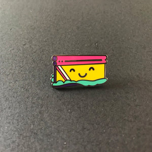 Happy Squeegee Pin