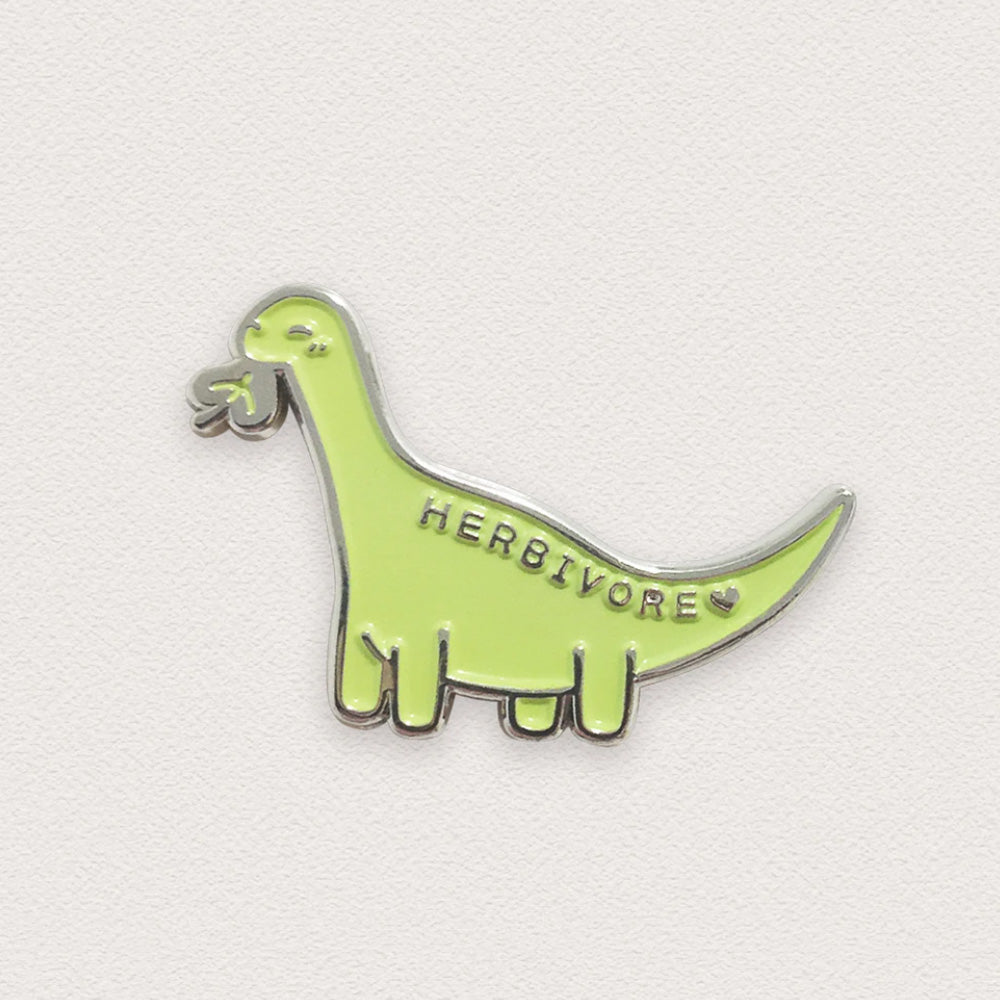Herbivore Dino Pin –– Ivy Chan