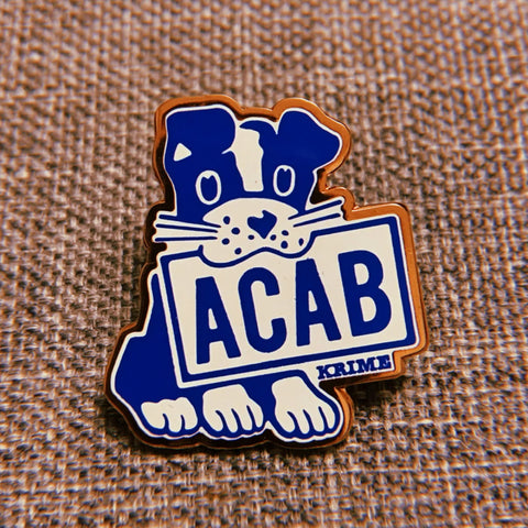ACAB Dog Pin –– KRIME