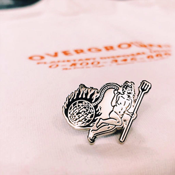 Planetary Disposal Pin - OVERGROWN CO X FAMILY STORE COLLAB