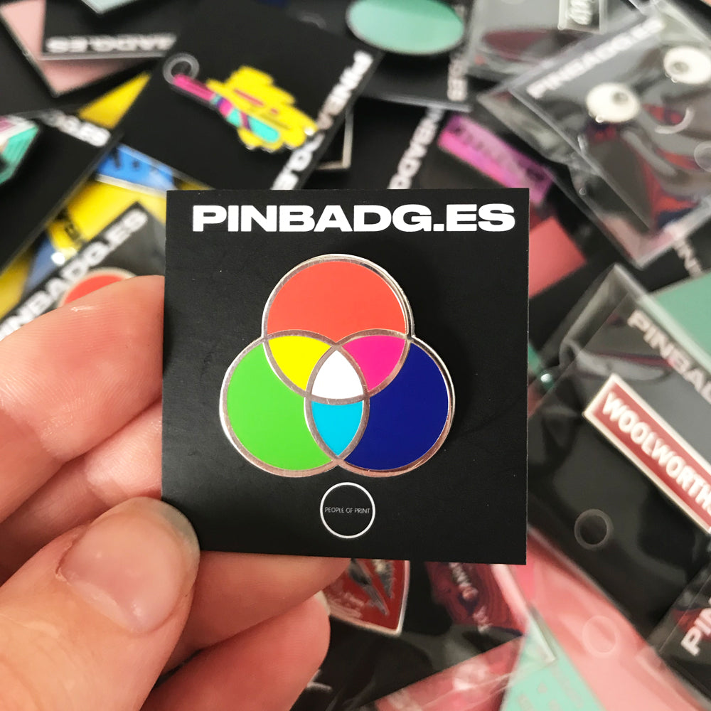 RGB Colour Circle — Enamel Pin