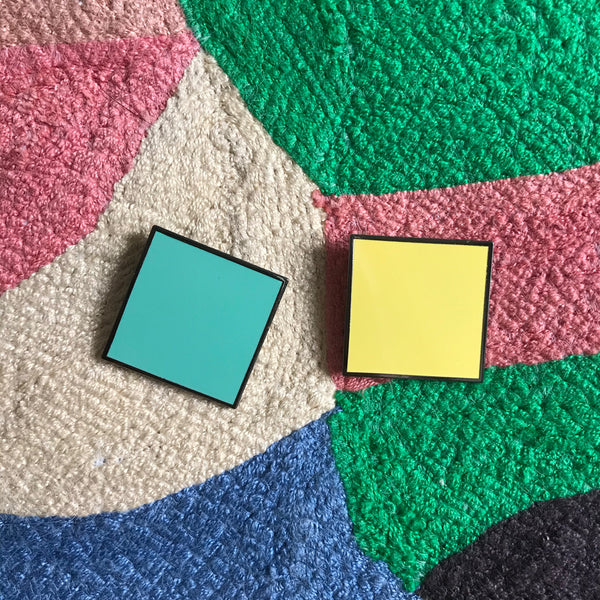 Nice Colours — Square Enamel Pin