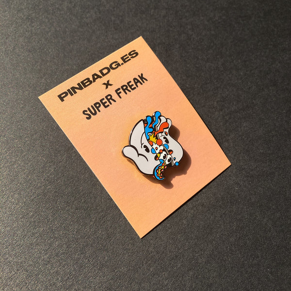 I Don't Feel So Good Pin –– Pinbadg.es X Super Freak