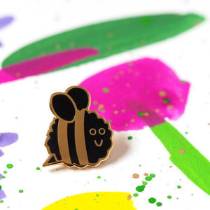 Bee Pin –– Rock Cakes