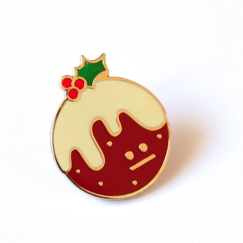 Christmas Pudding Pin –– Rock Cakes