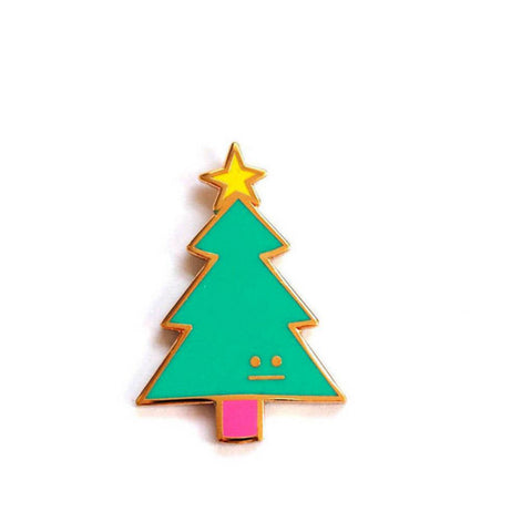 Christmas Tree Pin –– Rock Cakes