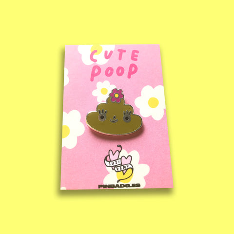 Cute Poop Pin –– Suzi Kemp