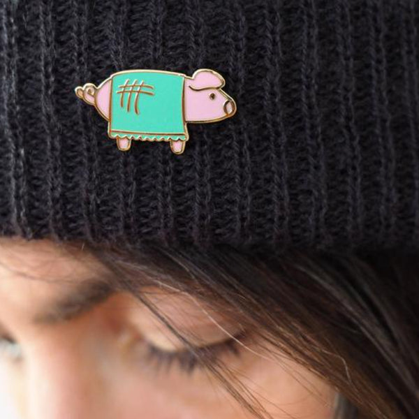 Pig in a Blanket Pin –– Rock Cakes