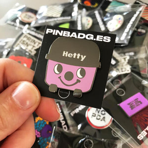 Hetty Hoover Pin