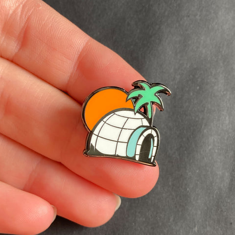 Igloo Pin –– Pinbadg.es X Tony Riff