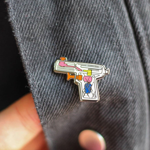 Watergun Pin –– Kendal Orr