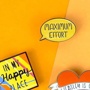Maximum Effort Pin –– Alice Vitrum