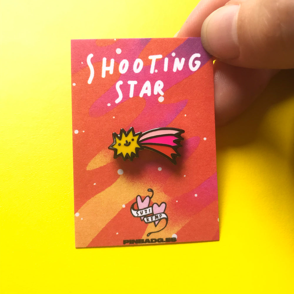 Shooting Star Pin –– Suzi Kemp