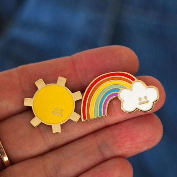 Sunshine Pin –– Rock Cakes