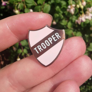 Trooper Pin –– Alice Vitrum