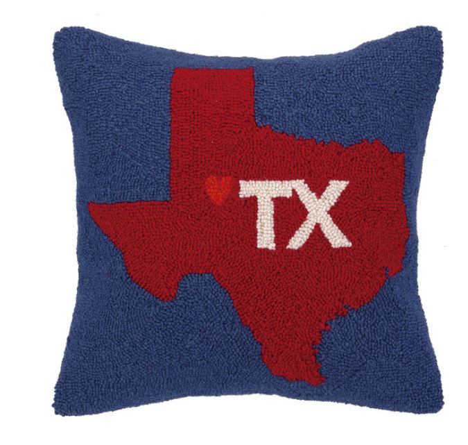 My Heart in Texas Pillow