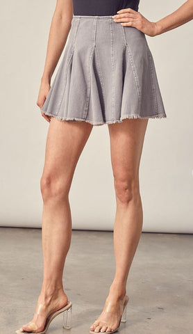 Tennis Denim Skirt