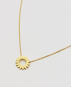 Modern Flower Necklace