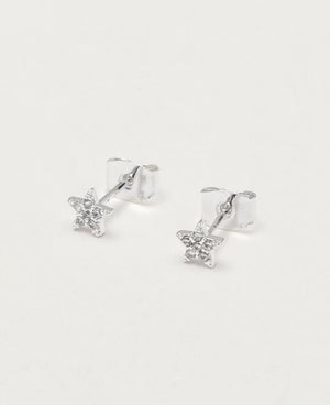 CZ Star Earrings