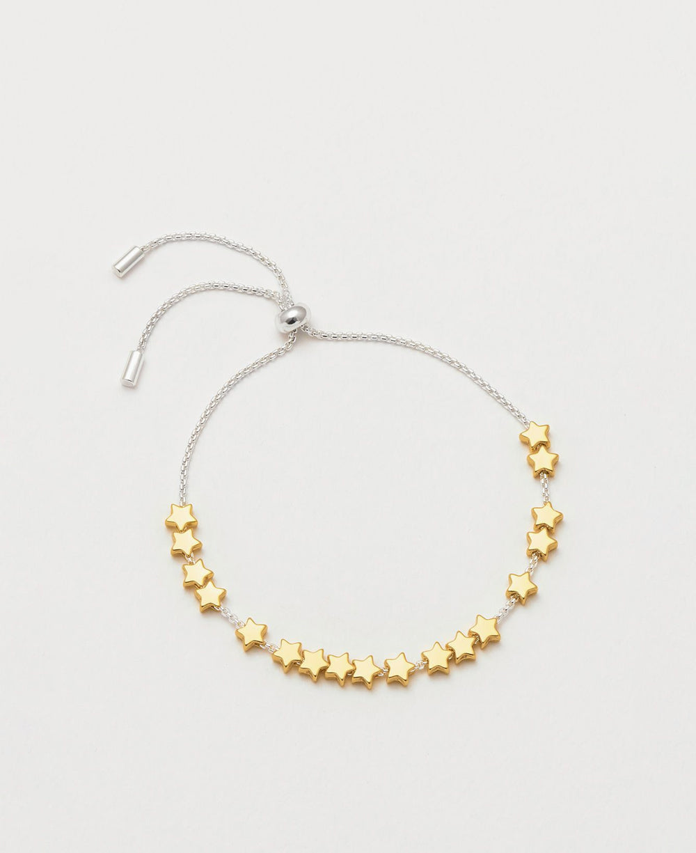 Stars So Bright Gold Slider Bracelet