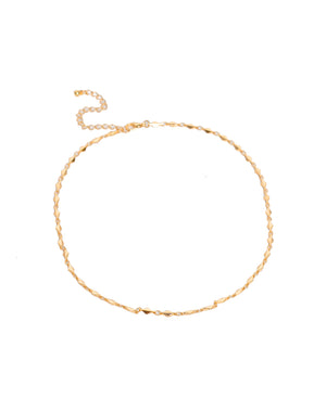Mabry Interlocked Chocker Chain